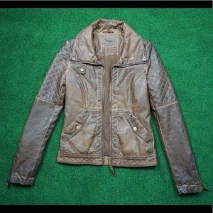 Women's Zaea Trafaluc Faux Leather Jacket